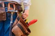 ceinture d'outils d'un ouvrier